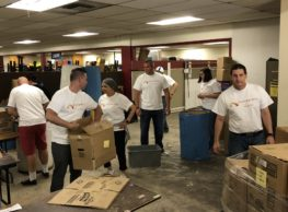 Pennbridge Lodging team members along with General Managers, Assistant General Managers and Directors' of Sales from each of our hotels volunteered at the Boise, ID Salvation Army.  We cleaned and scraped windows, scraped floors, cleaned and dusted shelves and clothes racks and help put together backpacks stocked with school supplies… Continue Reading..