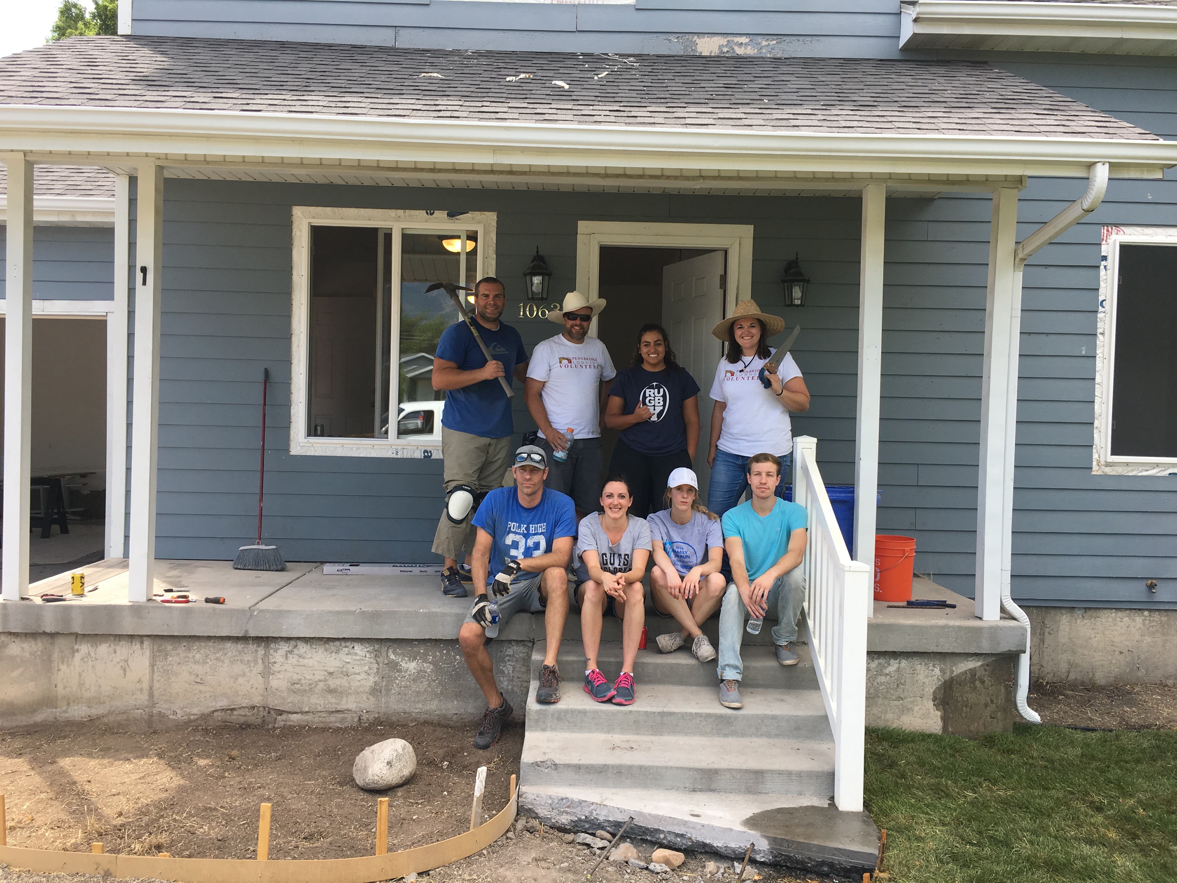 Team members from the Fairfield Inn and Suites and Towneplace Suites in Orem, UT along with the Pennbridge corporate office joined forces with Habitat for Humanity to install flooring and lay sod at a home in Provo, UT.… Continue Reading..