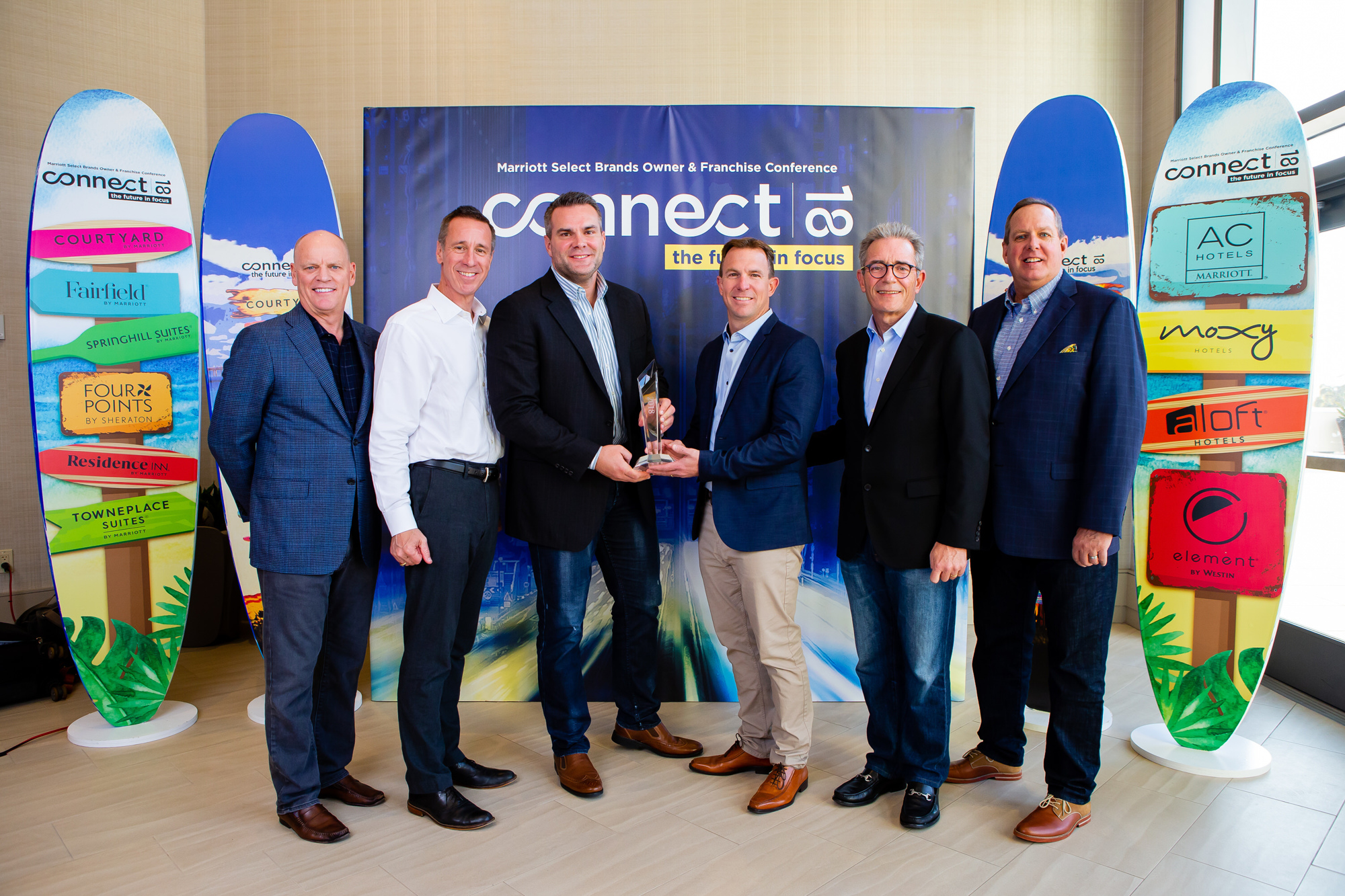 Pennbridge Lodging, a premier hotel development and management group, was recently presented Marriott's 2018 Horizon Award.