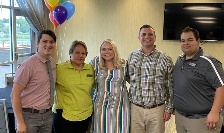 Courtney Polifka (Center) joined our team in St. George as the General Manager of the Springhill Suites on June 14.… Continue Reading..